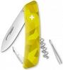 Нож швейцарский Swiza C01 Velor желтый - фото 1