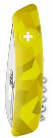 Фото 2 к товару Нож швейцарский Swiza C01 Velor желтый