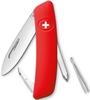 Нож швейцарский Swiza D02 красный - фото 1