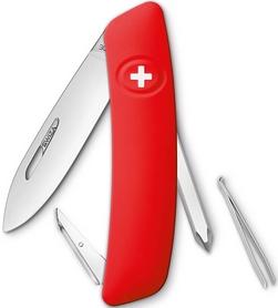 Нож швейцарский Swiza D02 красный