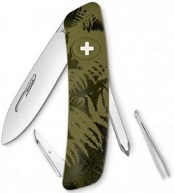 Нож швейцарский Swiza C02 Silva хаки