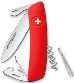 Нож швейцарский Swiza D03 красный