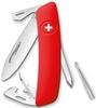 Нож швейцарский Swiza D04 красный - фото 1