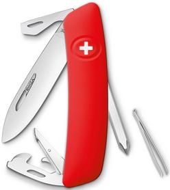 Фото 1 к товару Нож швейцарский Swiza D04 красный