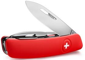 Фото 2 к товару Нож швейцарский Swiza D04 красный