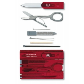 Нож швейцарский Victorinox Swisscard 0.7100.T 82 мм