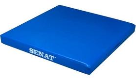 Мат гимнастический детский Senat 1352-bl 100х100х10 см синий