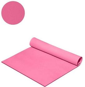 Коврик для фитнеса Mega Foam Спорт-комфорт 6 мм розовый
