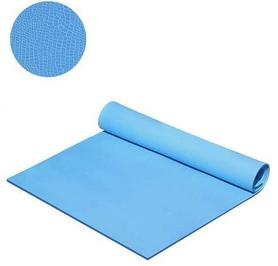 Коврик для фитнеса Mega Foam Спорт-комфорт 6 мм синий