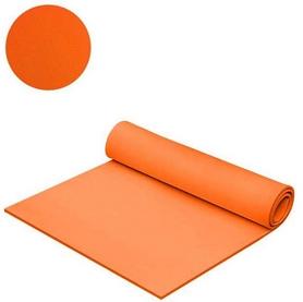 Коврик для фитнеса Mega Foam Универсальний 6 мм оранжевый