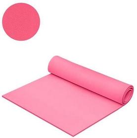 Коврик для фитнеса Mega Foam Универсальний 6 мм розовый