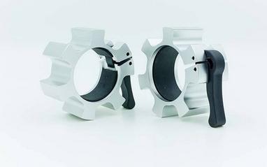 Замки алюминиевые для грифа Zelart Lock-Jaw Pro 50мм TA-5109