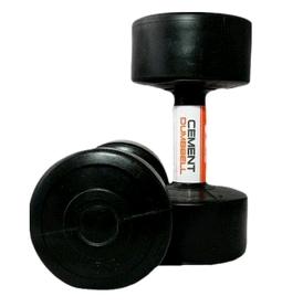 Гантели пластиковые Live Up Cement Dumbell 2 шт по 5 кг