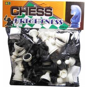 Шахматные фигуры пластиковые с полотном для игр IG-3107C