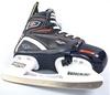 Коньки раздвижные детские хоккейные Tri-Gold PVC TG-KH091R черные 32-35 - фото 2