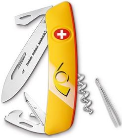 Нож швейцарский Swiza D03 PostCar оранжевый