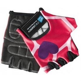 Перчатки велосипедные детские CrazySafety Жираф 540150-20 розовые