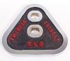 Гантели наборные хромированные в коробке Ateel SC-80205 20 кг - фото 2