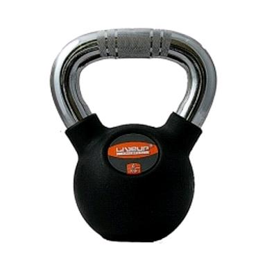 Гиря обрезиненная Live Up Rubber Kettel Dumbell 6 кг