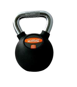 Гиря обрезиненная Live Up Rubber Kettel Dumbell 20 кг