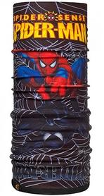 Головной убор зимний многофункциональный Buff Superheroes Polar venom/black