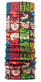 Головной убор зимний многофункциональный Buff Superheroes Polar quartet/black