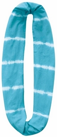 Шарф-снуд летний Buff Infinity Organic Cotton Turquoise Shibori