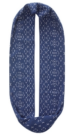 Шарф-снуд летний Buff Cotton Jacquard Infinity Stitch Denim