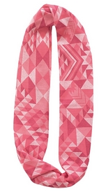 Шарф-снуд летний Buff Cotton Jacquard Infinity Tribe Pink