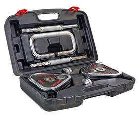 Гантели наборные хромированные в коробке Ateel SC-80205 20 кг