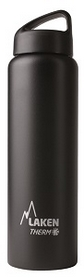 Термофляга Laken St. steel thermo bottle 18/8 TA10N Black 1 л