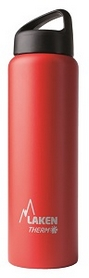 Термофляга Laken St. steel thermo bottle 18/8 TA10R Red 1 л