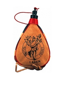 Фляга Laken Leather canteen 500 мл straight form
