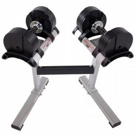 Гантели с переменным весом со стойкой Finnlo Smart Lock 2x20 кг