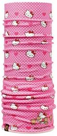 Головной убор детский зимний многофункциональный Buff Hello Kitty Child Polar heartsanddots/pink pale