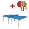 Стол теннисный для помещений Gk-1 синий + подарок - фото 1