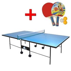 Стол теннисный складной всепогодный G-Street 3 + подарок
