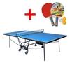 Стол теннисный складной для помещений Gk-6 + подарок - фото 1