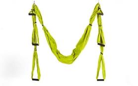 Гамак для йоги ZLT Antigravity Yoga swing FI-5323 салатовый