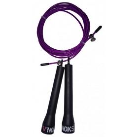 Скакалка V`Noks Steel 40217 фиолетовая