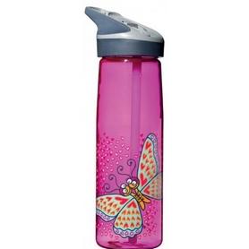Бутылка детская Laken Tritan Jannu 750 мл розовая