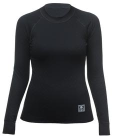 Термореглан женский Thermowave 2 in 1 LS Jersey W черный