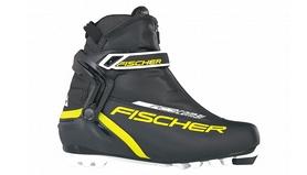 Распродажа*! Ботинки для беговых лыж Fischer RC3 Combi black/yellow - размер 44