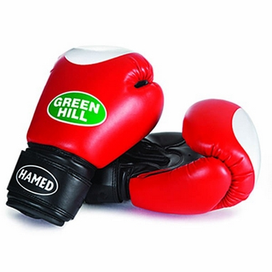 Перчатки боксерские Green Hill Hamed красные