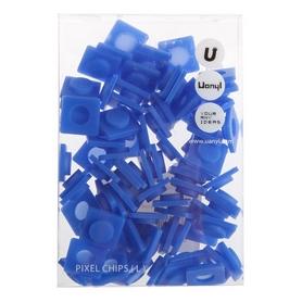 Пиксели Upixel Big синие