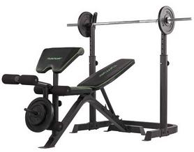 Скамья силовая Tunturi WB50 Mid Width Weight Bench