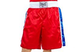 Трусы боксерские Everlast ULI-9014-R красные - M
