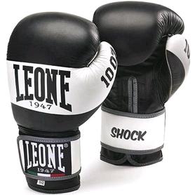 Перчатки боксерские Leone Shock Black