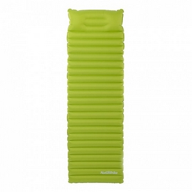 Коврик надувной с подушкой Naturehike NH16D003-D 85 мм зеленый