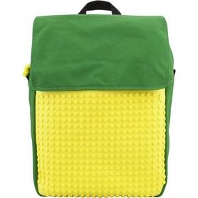 Рюкзак городской Upixel Fliplid зелено-желтый